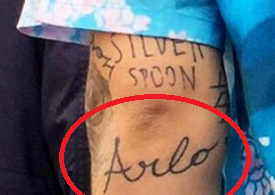 'ARLO' Tattoo