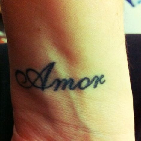 Amor Love Tattoo