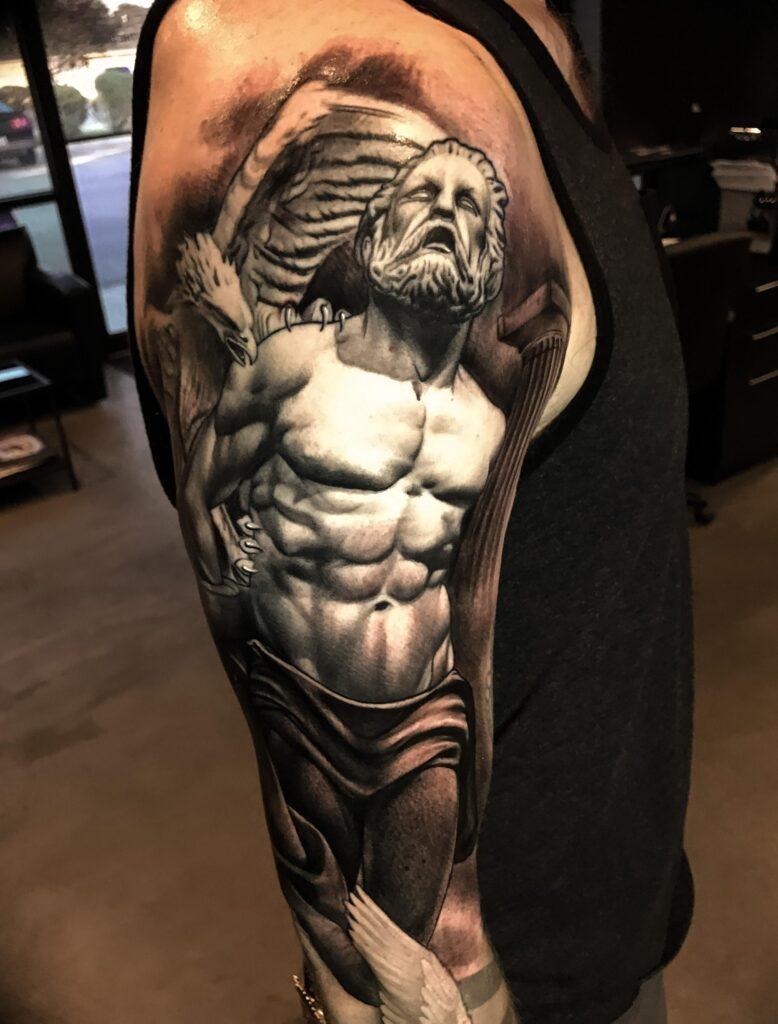 Russian Prometheus tattoo