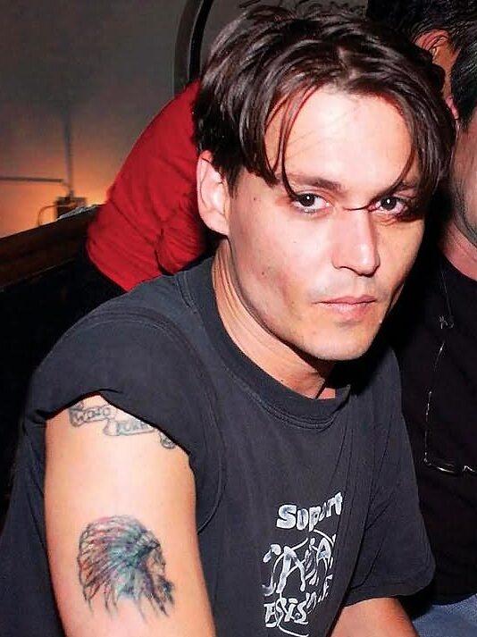Cherokee Tribe Tattoo of Johnny Depp
