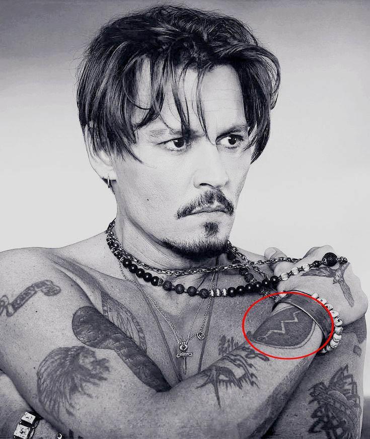 Snake Tattoo of Johnny