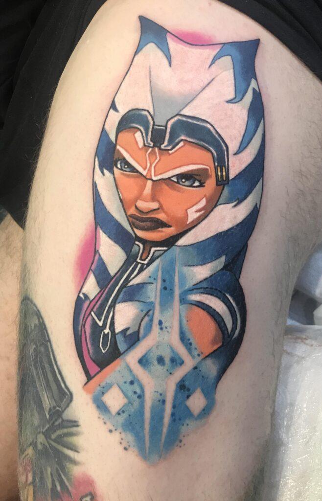 Ahsoka Tano Tattoo