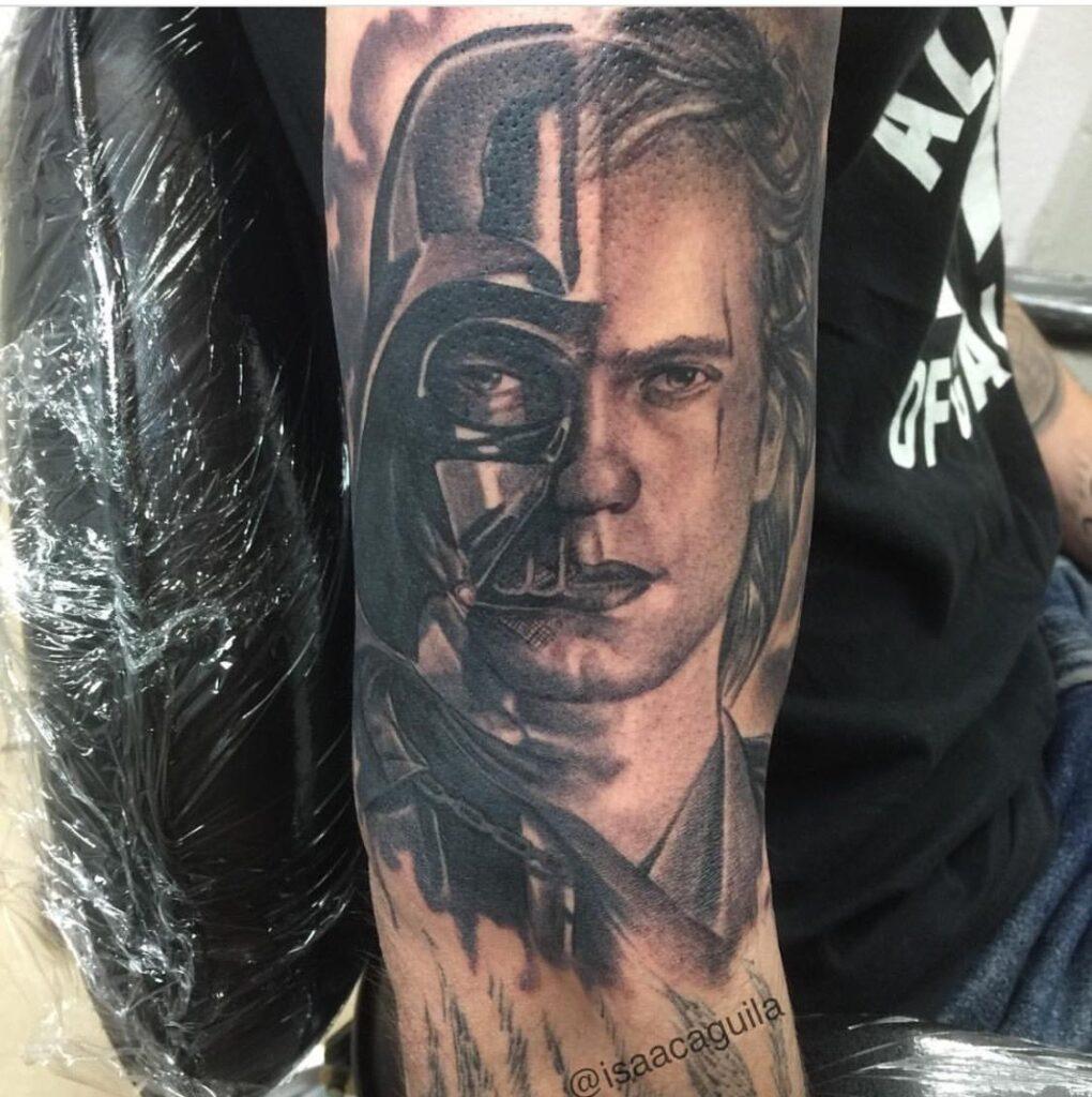 Anakin Skywalker Star Wars Tattoo