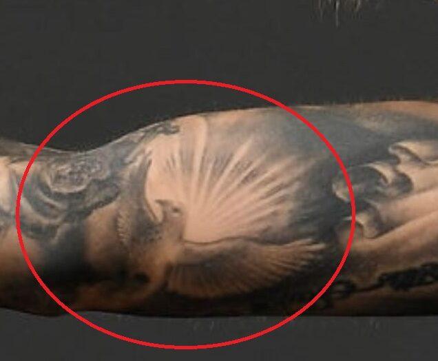 Flying Dove Tattoo