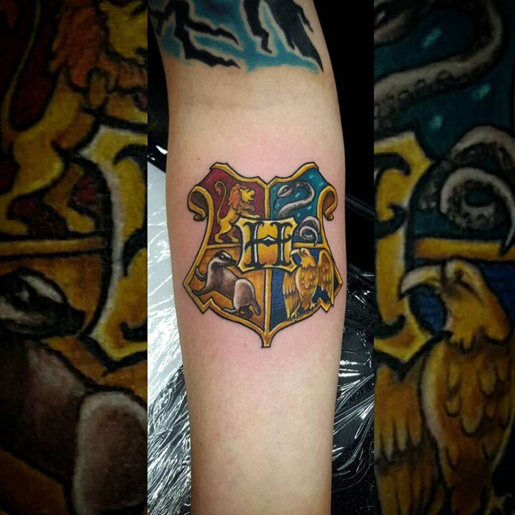Hogwarts House Tattoo