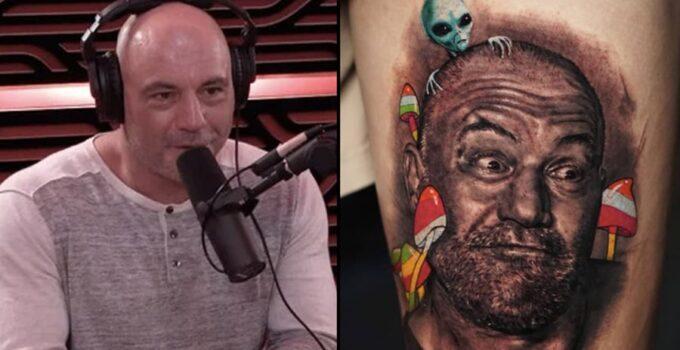 Joe Rogan Tattoo