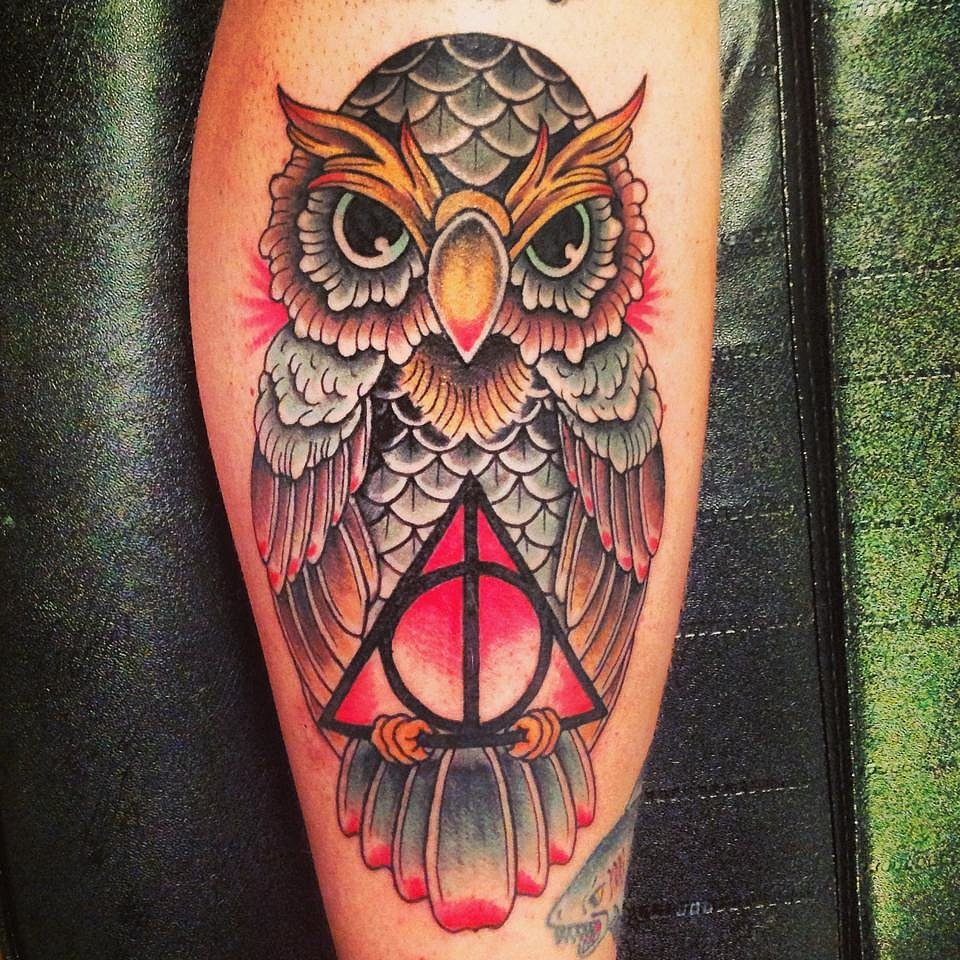 Harry Potter Owl Tattoo