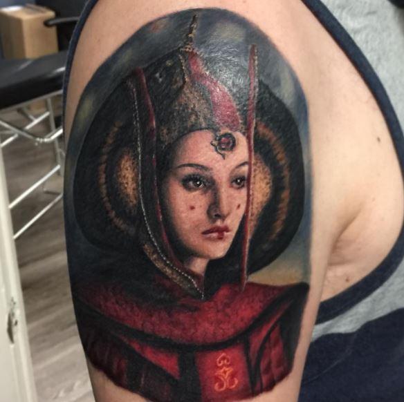 Padme Tattoo