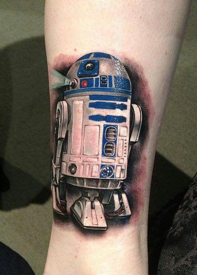 R2-D2  Star Wars  Tattoo