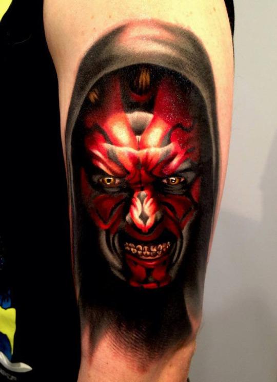 Sith Lord Tattoo