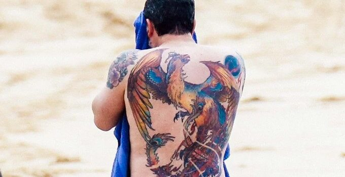 ben affleck tattoos