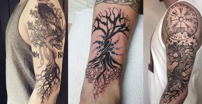 Amazing Yggdrasil Tattoo