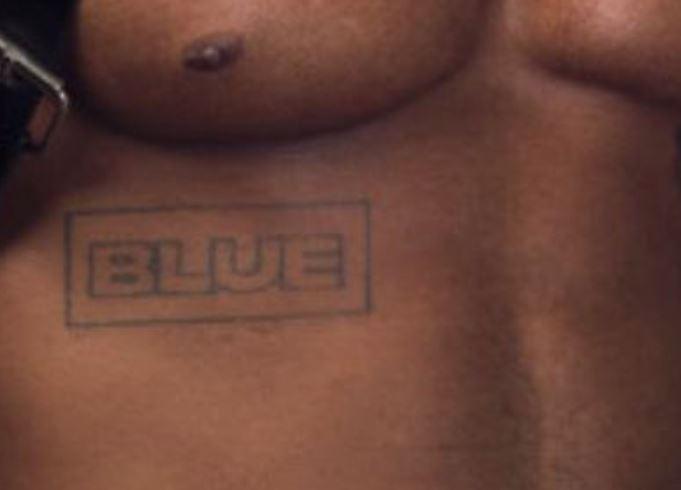 KiDi Blue Tattoo