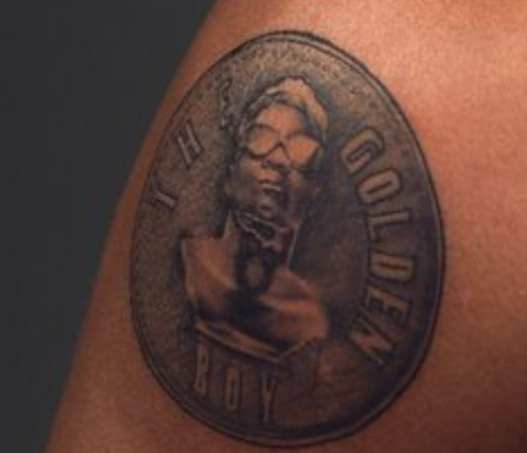 The Golden Boy KiDi Tattoos